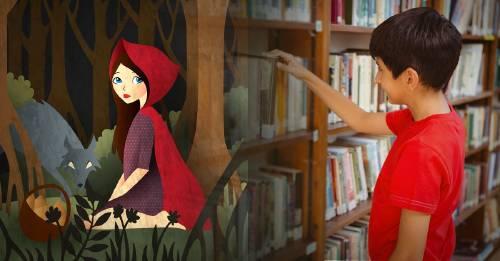 Por qué retiraron Caperucita Roja y otros clásicos infantiles de una biblioteca
