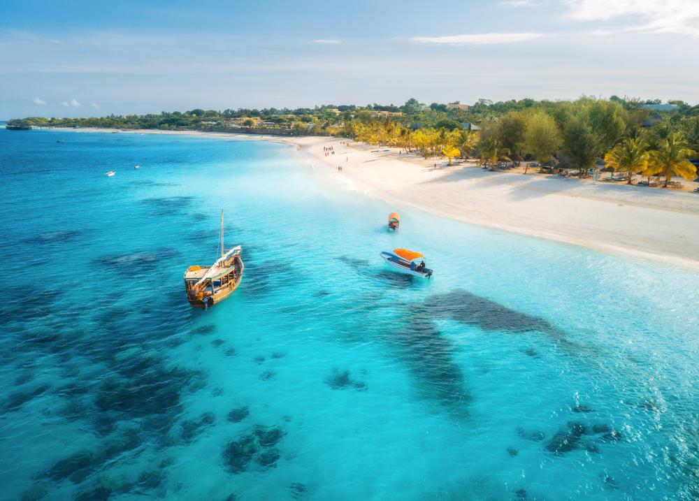 Un paraíso tropical llamado Zanzíbar, frente a las costas de África Oriental