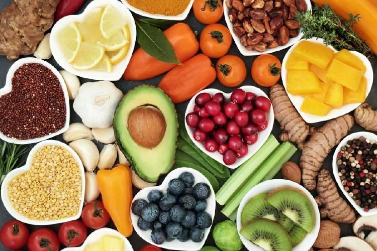superalimentos frutas verduras comida