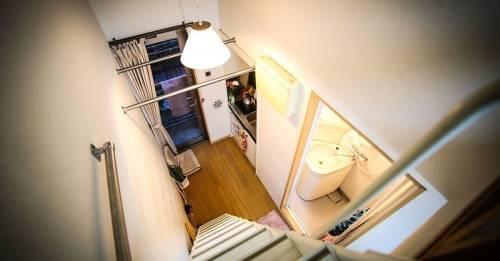 Una casa minimalista en Japón de solo 8 metros cuadrados