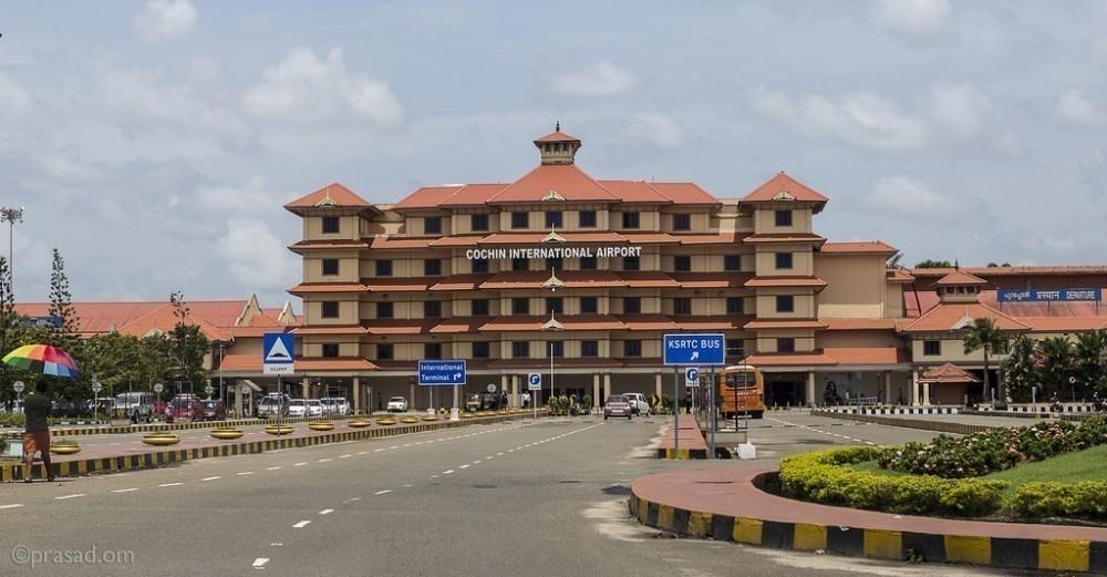 Aeropuerto de Cochin Energía solar