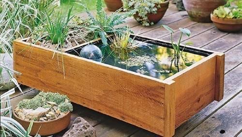 Cómo hacer una fuente para plantas acuáticas que puedes colocar en tu patio,..