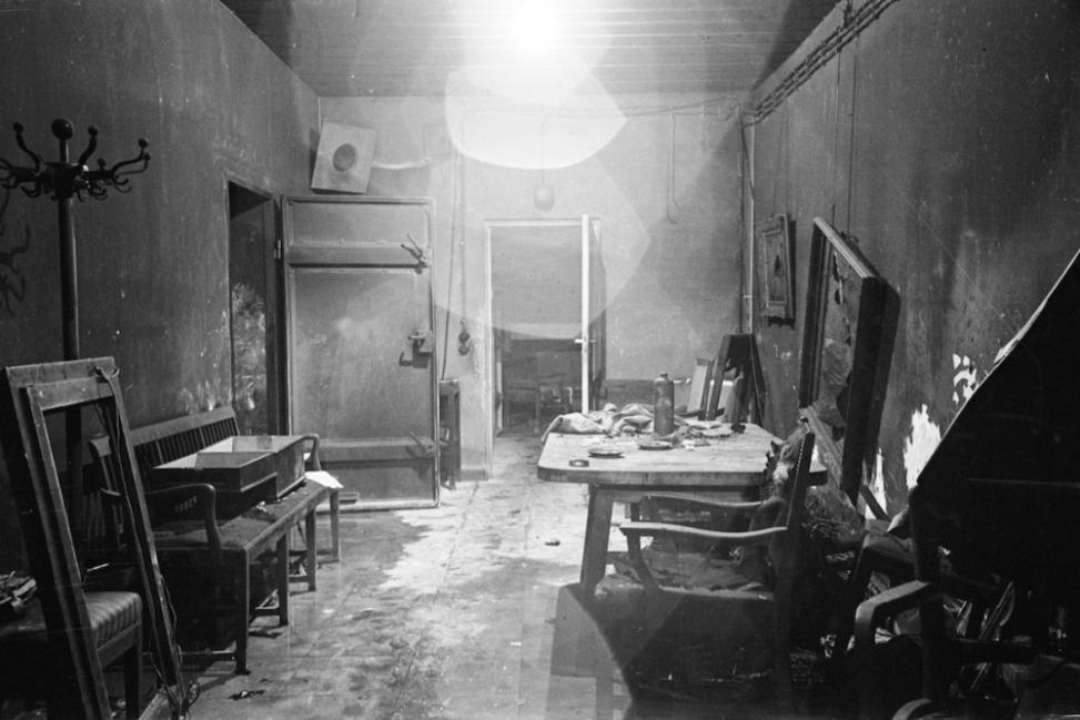 Fotografías históricas bunker