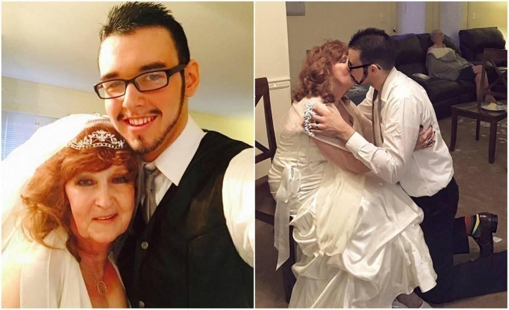 La historia de amor entre un joven de 19 años y una mujer de 72