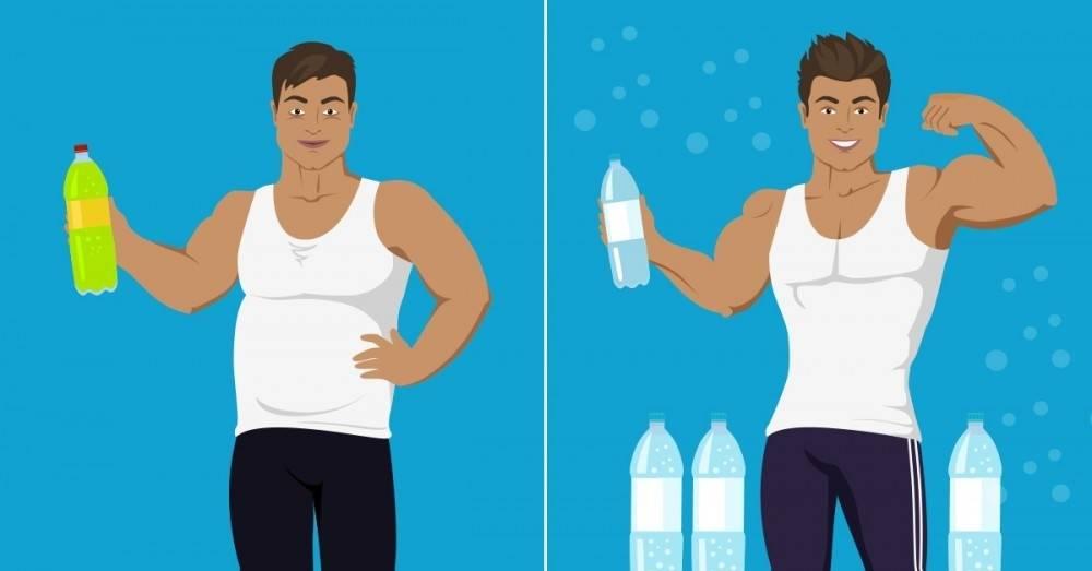 ¿Cuánta agua debes tomar para bajar de peso según tu tipo de cuerpo?