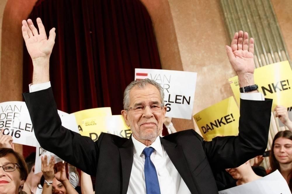 En Austria un ecologista fue elegido presidente