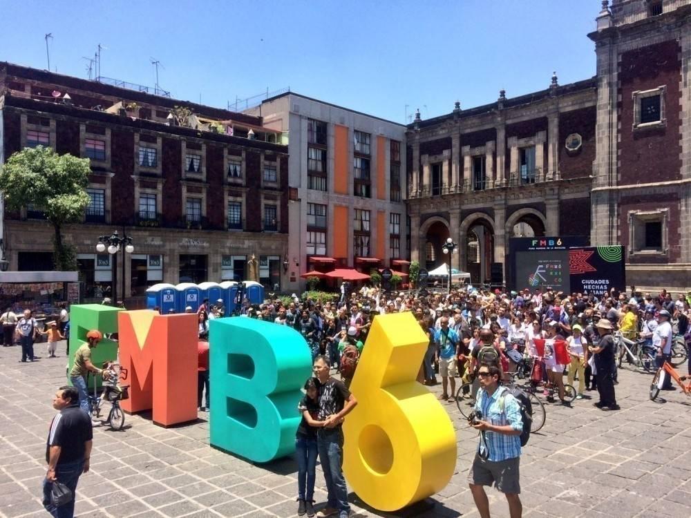 El sexto Foro Mundial de la Bicicleta (FMB) reunió a 16 mil personas en Méxi..