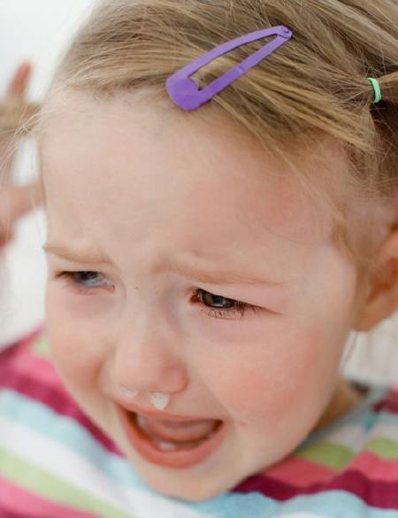 aliviar congestion nasal niños