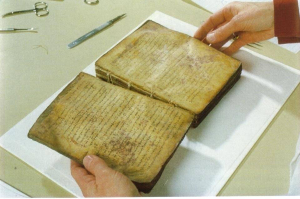 """Esto es lo que estaba escrito en la antigua receta descubierta del """"padre de l.."""
