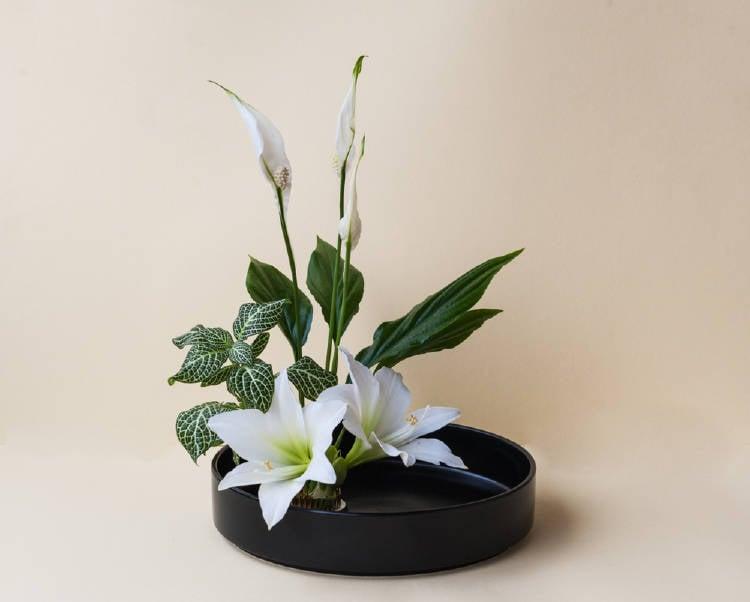ikebana arreglo floral tecnica japonesa