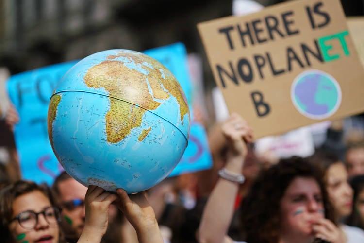 huelga climatica protesta