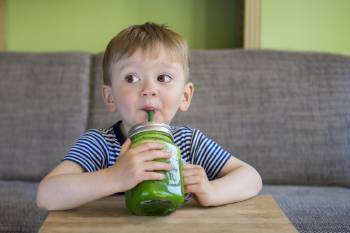 niño batido verde