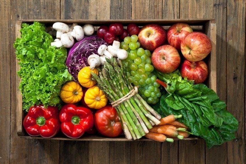 reglas comer vegetales