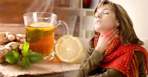 medicamento caseros para garganta irritada
