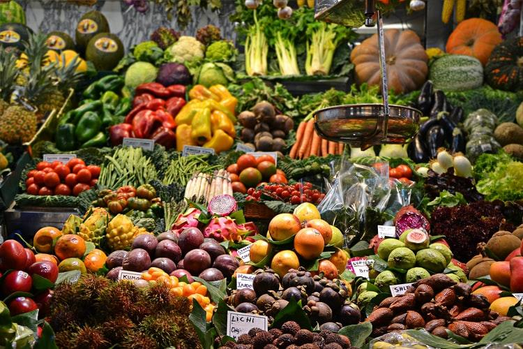 verduras para deshidratar.
