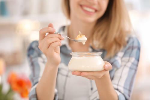 yogur casero