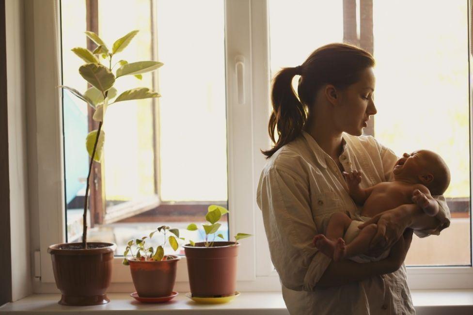 calmar a un bebé