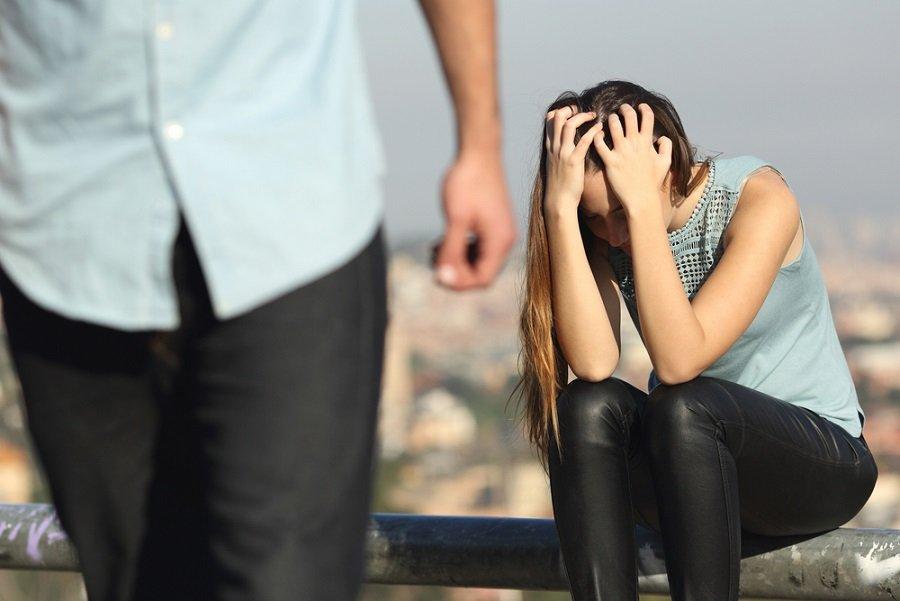 pareja ruptura maltrato