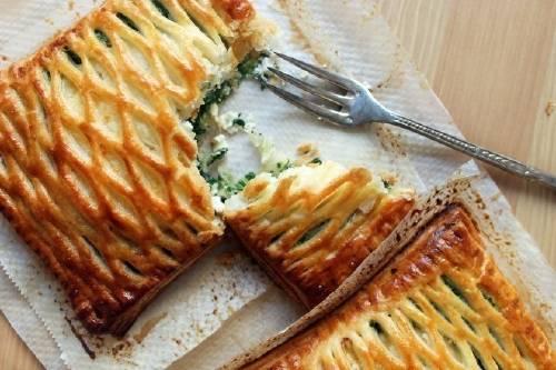 Tartines de ricota y espinaca