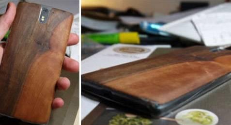Cómo hacer un protector de madera para la parte de atrás de tu celular