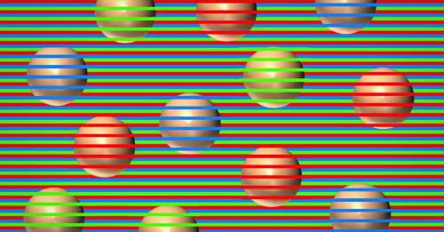 ¿De qué color son las esferas? La ilusión óptica viral que confunde a tu cerebro