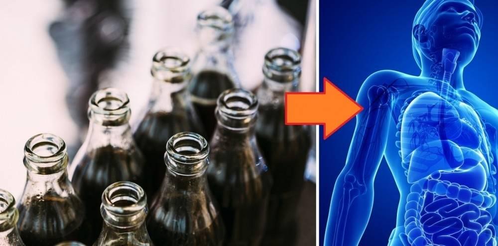 5 cosas graves que las bebidas gaseosas producen en tu organismo
