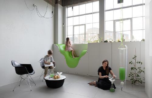BioBombola, un jardín de algas doméstico que busca modos de vida sostenibles