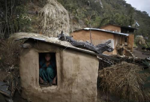 Las chicas de Nepal toman fotos para denunciar algo que todavía es tabú en s..