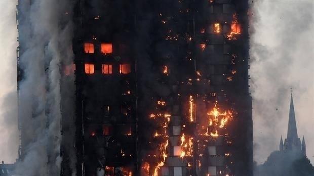 Los héroes del gran incendio en Londres fueron los musulmanes del Ramadán