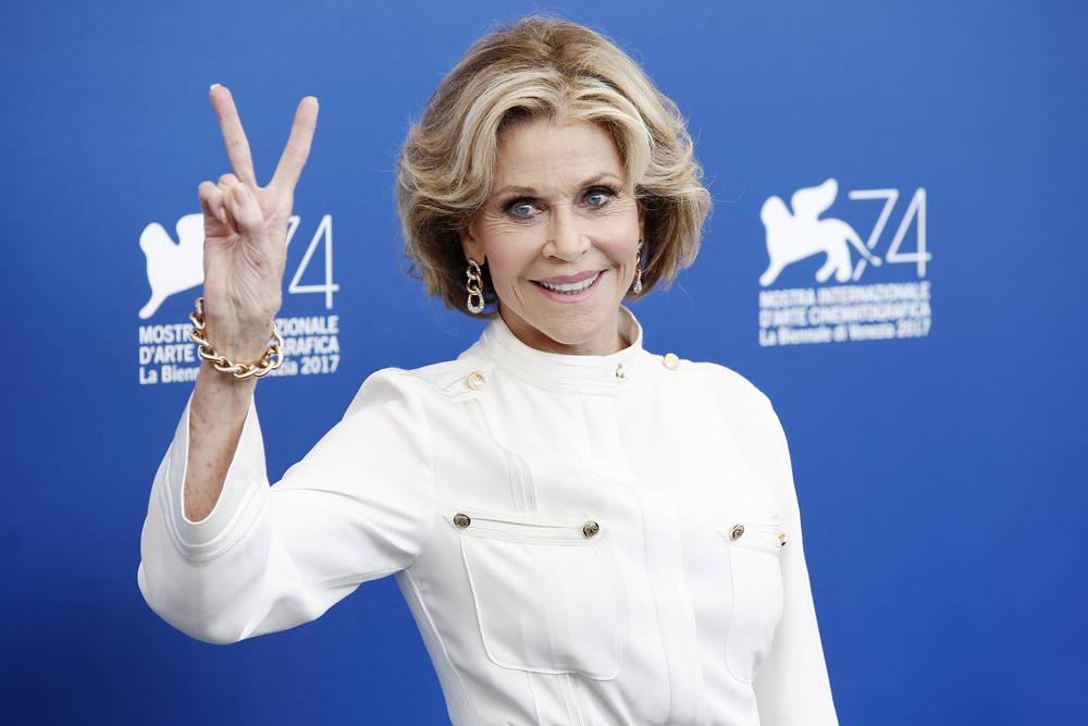 """Jane Fonda: """"No me someteré más a cirugías plásticas"""""""