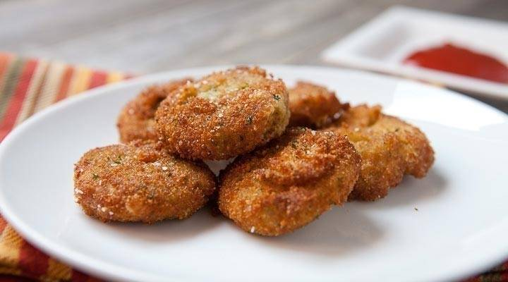 Nuggets vegetarianos
