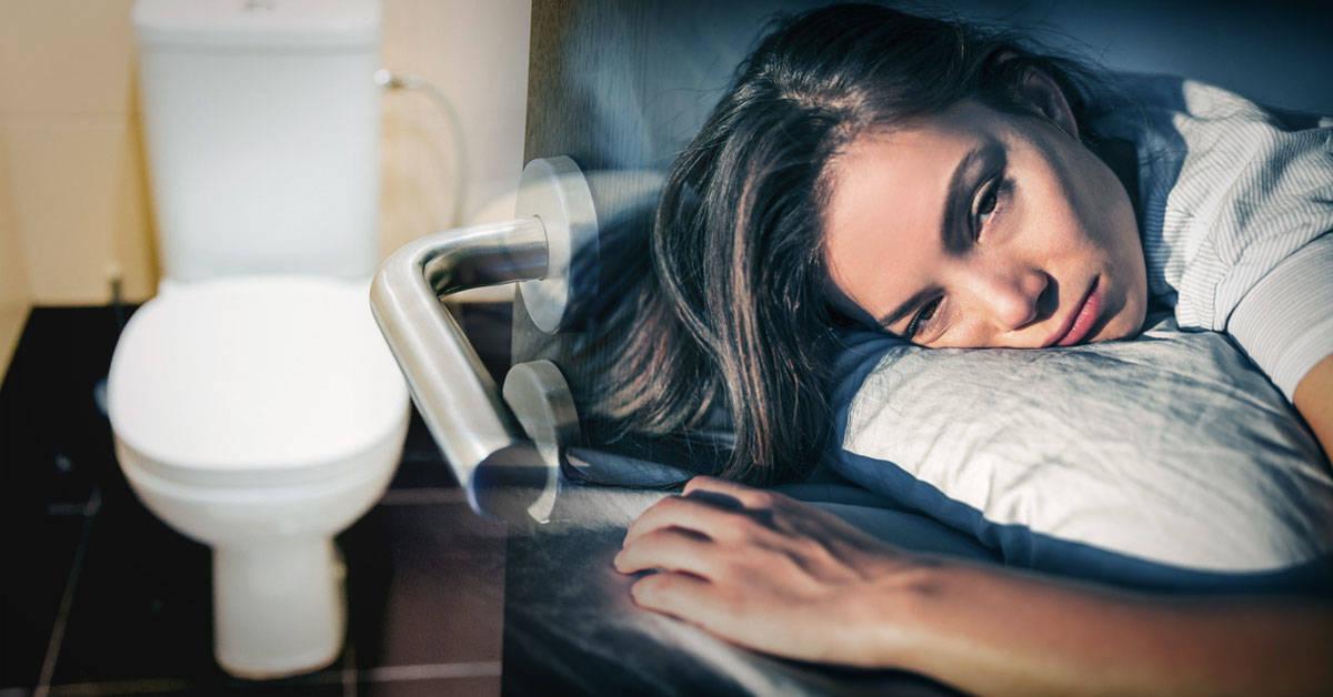 Si te levantas en la noche para ir al baño puedes tener esta enfermedad