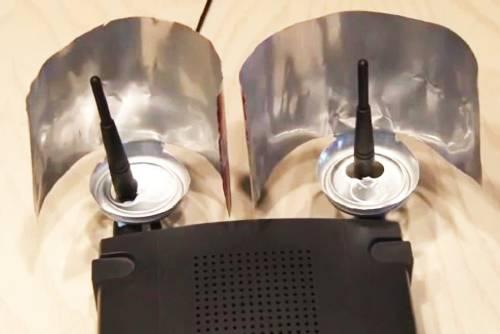 Cómo hacer un amplificador para la señal de wifi con una lata de refresco