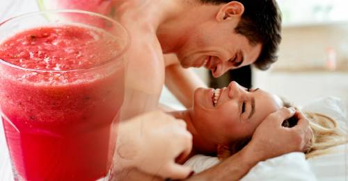 Esta bebida es un poderoso estimulante sexual que puedes preparar en cinco minutos