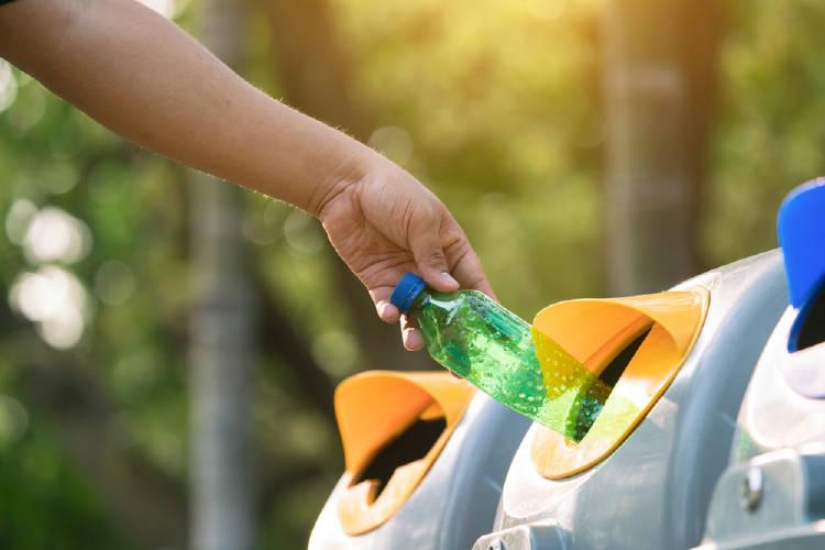 reciclaje botella
