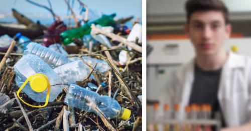 Harvard y MIT distiguieron a este joven por su trabajo contra la contaminación