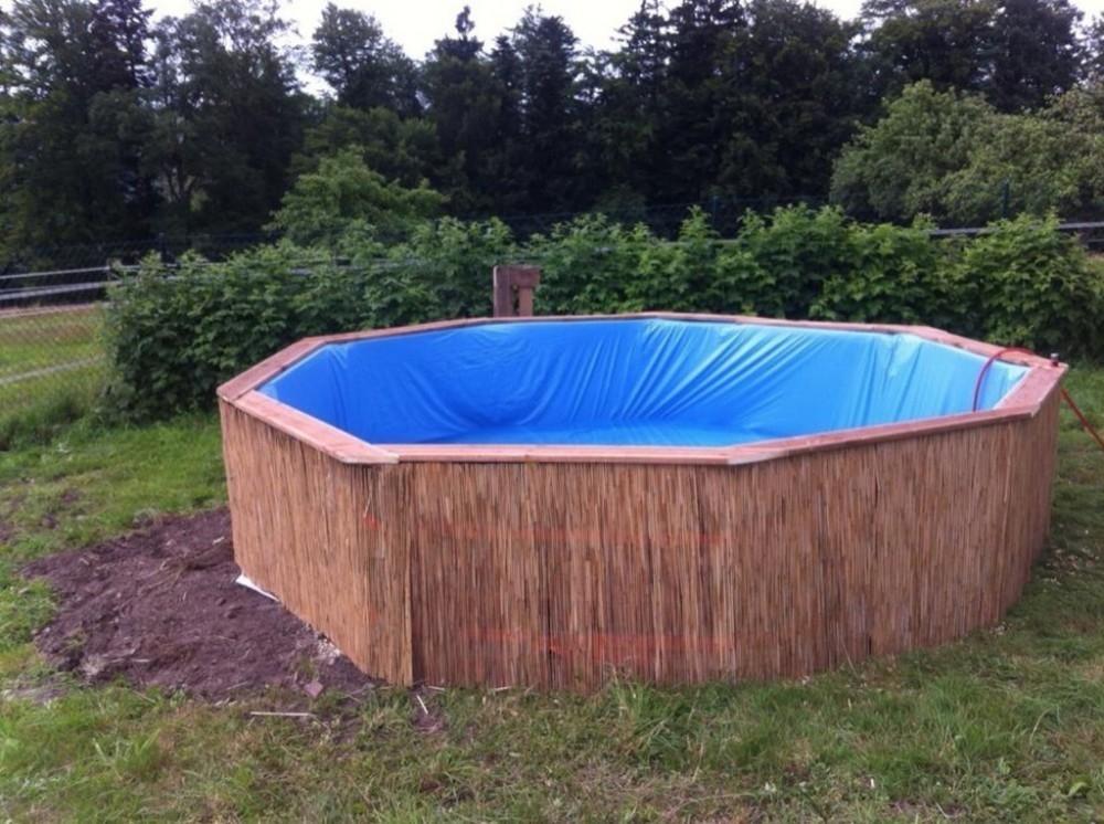 C mo hacer tu propia piscina de pallets for Bioguia jardines