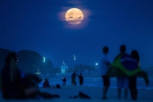Eclipse de superluna azul: el espectáculo del 31 de enero que no se repetirá..
