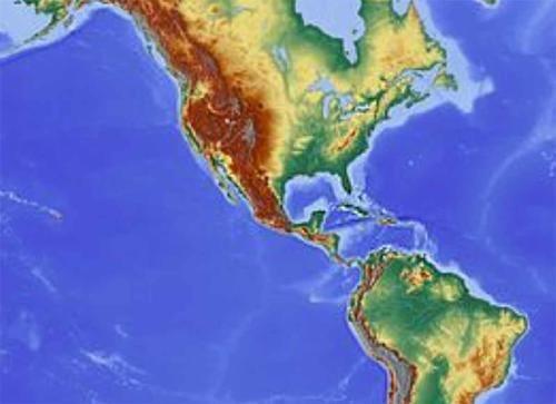 """Revelan que un río de rocas que fluye bajo el Caribe es lo que """"sostiene"""" a Centroamérica"""