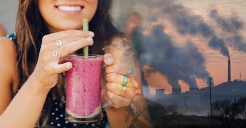 ¿Cómo impacta lo que comes y bebes sobre el ambiente? Esta calculadora te da la respuesta