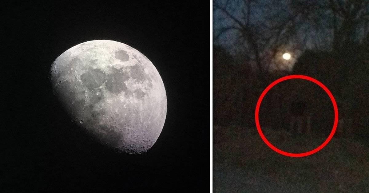 Este niño quiso sacarle una foto a la luna, pero tuvo una experiencia sobrenatural que no pudo explicar con palabras