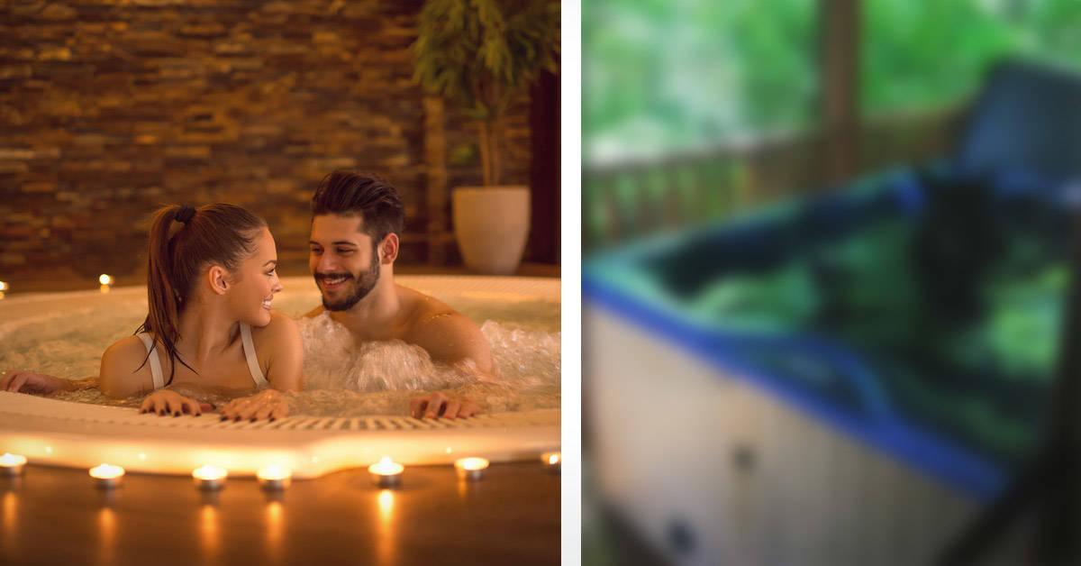 Estaban por bañarse y se encontraron con un huésped inesperado en el jacuzzi