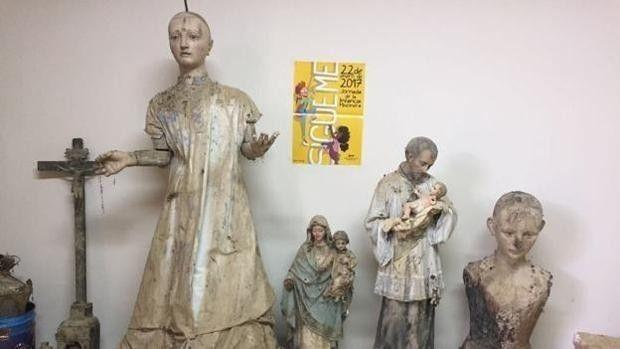 Las obras de arte recuperadas serán catalogadas y analizadas para conocer su valor