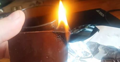 Esto es lo que están demostrando los rusos incendiando chocolates