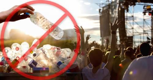 Un famoso festival de música dejará de vender botellas desechables