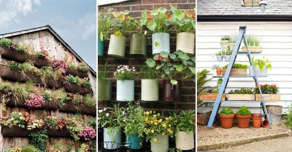 12 Ideas Para Montar Jardines Verticales - Ideas-de-jardin