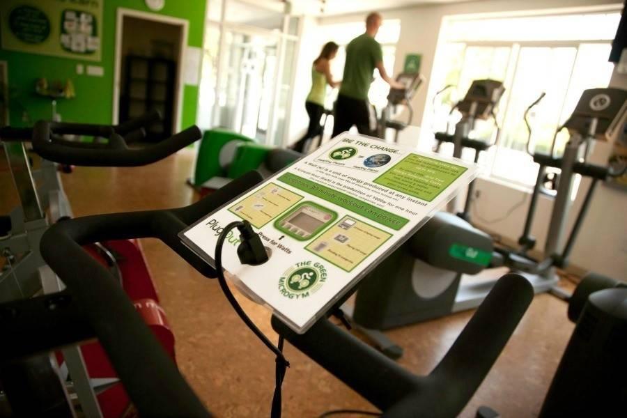 Un gimnasio ecológico donde además de ejercitarte, ¡generas energía limpia!