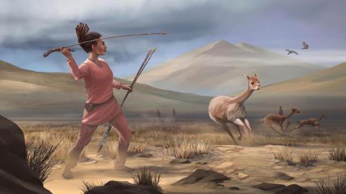 ¿Estereotipo del hombre cazador? Las mujeres prehistóricas también cazaban grandes animales