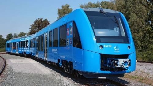 El primer tren de pasajeros que funciona con hidrógeno y produce cero emisiones