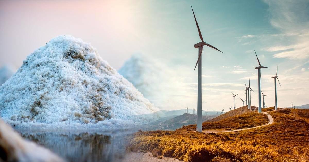 ¿La sal una de las soluciones al almacenamiento de energía a gran escala?